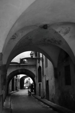 Firenze i sort/hvitt